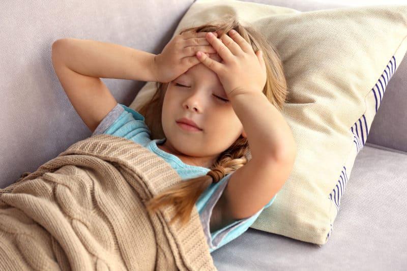 мигрена при децата