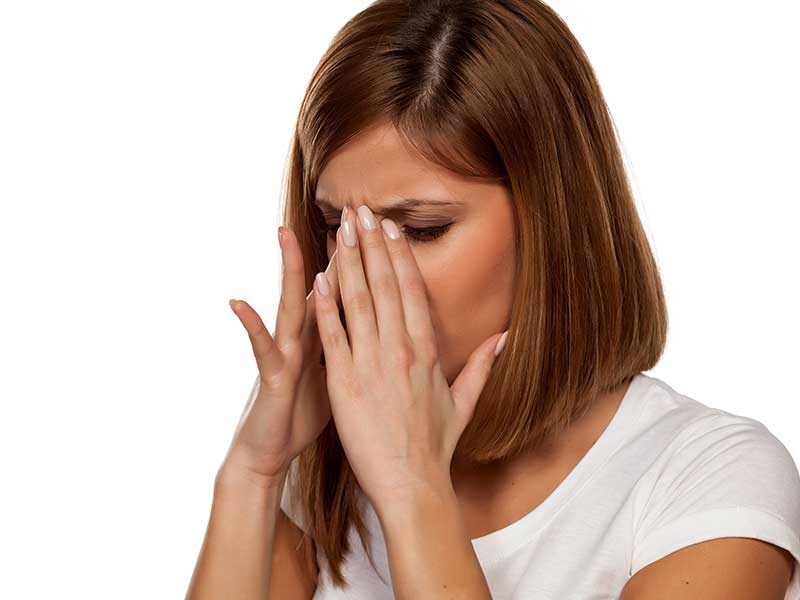 главоболие от синузит