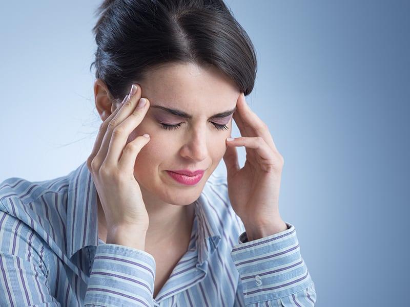 симптоми на очна мигрена